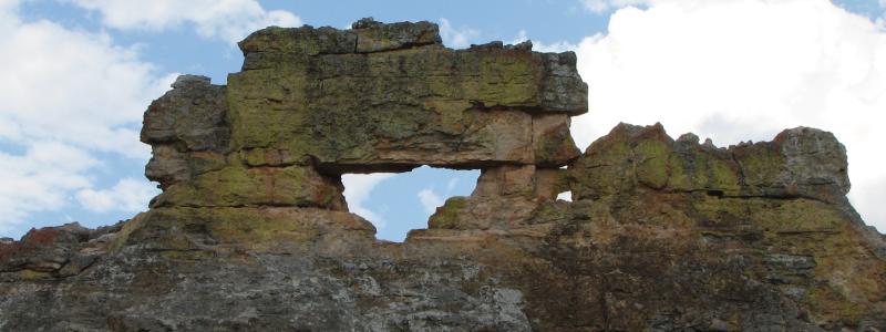 La fenêtre de l Isalo